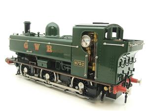 Gauge 1 Aster GWR Green Class 5700 Pannier Tank Loco R/N 6752 Insulated Wheels Ed Live Steam image 4