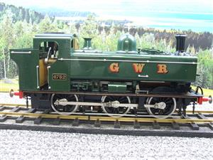 Gauge 1 Aster GWR Green Class 5700 Pannier Tank Loco R/N 6752 Insulated Wheels Ed Live Steam image 5