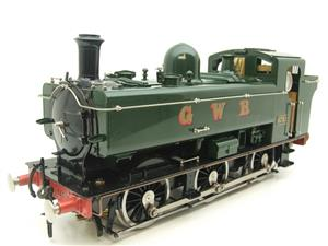 Gauge 1 Aster GWR Green Class 5700 Pannier Tank Loco R/N 6752 Insulated Wheels Ed Live Steam image 6