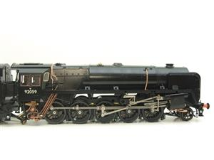 Gauge 1 Aster Accucraft BR Black Class 9F 2-10-0 Loco & Tender R/N 92059 Live Steam As New image 4