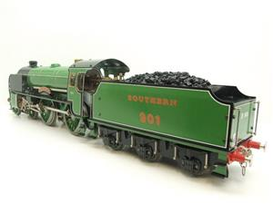"Gauge 1 Aster SR ""Southern"" 4-4-0 Schools Class ""Winchester"" R/N 901 Live Steam Unsteamed image 7"