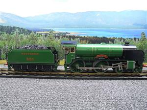 "Gauge 1 Aster SR ""Southern"" 4-4-0 Schools Class ""Winchester"" R/N 901 Live Steam Unsteamed image 9"