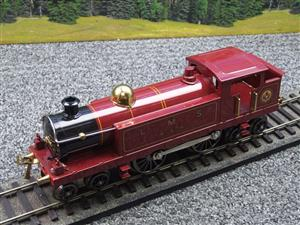 "Ace Trains O Gauge ELM 1 ""LMS"" Maroon  4-4-4 Tank Loco R/N 4-4-4 Electric 3 Rail Mint Boxed image 7"