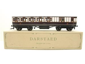 "Darstead O Gauge ""LNWR"" All 3rd Passenger Brake Coach 2/3 Rail running image 1"