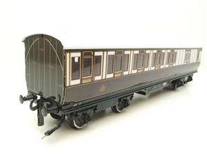 "Darstead O Gauge ""LNWR"" All 3rd Passenger Brake Coach 2/3 Rail running image 2"
