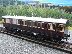 "Darstead O Gauge ""LNWR"" All 3rd Passenger Brake Coach 2/3 Rail running image 3"
