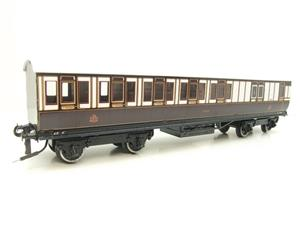 "Darstead O Gauge ""LNWR"" All 3rd Passenger Brake Coach 2/3 Rail running image 4"