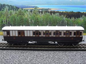 "Darstead O Gauge ""LNWR"" All 3rd Passenger Brake Coach 2/3 Rail running image 5"