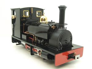 "G Scale  Roundhouse 45mm Gauge Brass, Black, 0-4-0T ""Lilla"" Saddle Tank Loco Live Steam New Bxd image 2"