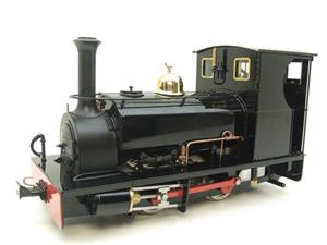"G Scale  Roundhouse 45mm Gauge Brass, Black, 0-4-0T ""Lilla"" Saddle Tank Loco Live Steam New Bxd image 3"