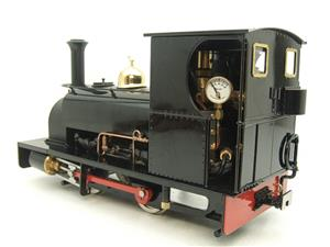 "G Scale  Roundhouse 45mm Gauge Brass, Black, 0-4-0T ""Lilla"" Saddle Tank Loco Live Steam New Bxd image 4"