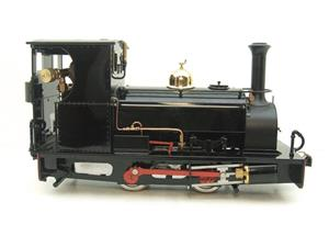"G Scale  Roundhouse 45mm Gauge Brass, Black, 0-4-0T ""Lilla"" Saddle Tank Loco Live Steam New Bxd image 5"