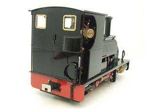 "G Scale  Roundhouse 45mm Gauge Brass, Black, 0-4-0T ""Lilla"" Saddle Tank Loco Live Steam New Bxd image 6"