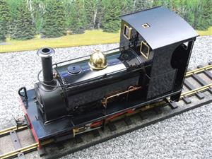 "G Scale  Roundhouse 45mm Gauge Brass, Black, 0-4-0T ""Lilla"" Saddle Tank Loco Live Steam New Bxd image 7"