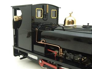"G Scale  Roundhouse 45mm Gauge Brass, Black, 0-4-0T ""Lilla"" Saddle Tank Loco Live Steam New Bxd image 8"