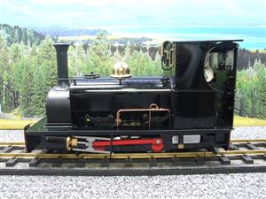 "G Scale  Roundhouse 45mm Gauge Brass, Black, 0-4-0T ""Lilla"" Saddle Tank Loco Live Steam New Bxd image 9"