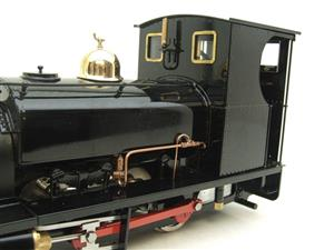 "G Scale  Roundhouse 45mm Gauge Brass, Black, 0-4-0T ""Lilla"" Saddle Tank Loco Live Steam New Bxd image 10"