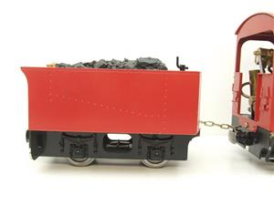 "G Scale  Roundhouse 45mm Gauge Brass, Red, 0-4-0T ""Billy"" Loco & ""George"" Tender Live Steam image 5"