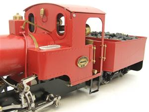 "G Scale  Roundhouse 45mm Gauge Brass, Red, 0-4-0T ""Billy"" Loco & ""George"" Tender Live Steam image 8"
