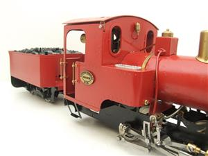 "G Scale  Roundhouse 45mm Gauge Brass, Red, 0-4-0T ""Billy"" Loco & ""George"" Tender Live Steam image 10"