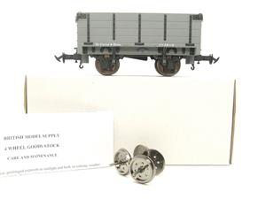 "Gauge 1 BMS Accucraft R19-3B Dual Gauge 32mm/45mm ""W & L Open"" Mineral Wagon Un-Numbered Boxed image 1"