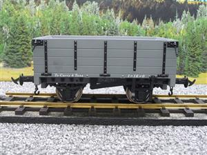 "Gauge 1 BMS Accucraft R19-3B Dual Gauge 32mm/45mm ""W & L Open"" Mineral Wagon Un-Numbered Boxed image 5"