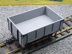 "Gauge 1 BMS Accucraft R19-3B Dual Gauge 32mm/45mm ""W & L Open"" Mineral Wagon Un-Numbered Boxed image 7"