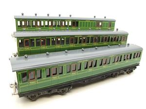 "Ace Trains O Gauge C1 Southern SR ""Southern"" Green x3 NC Passenger Coaches Set image 3"