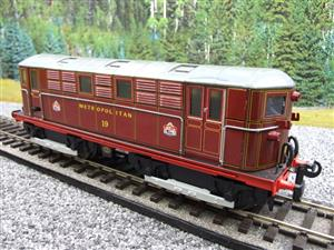 "Ace Trains O Gauge E17, Metropolitan Vickers Bo-Bo ""Metropolitan"" Loco No 19, Electric 2/3 Rail image 3"