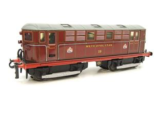 "Ace Trains O Gauge E17, Metropolitan Vickers Bo-Bo ""Metropolitan"" Loco No 19, Electric 2/3 Rail image 4"