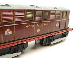 "Ace Trains O Gauge E17, Metropolitan Vickers Bo-Bo ""Metropolitan"" Loco No 19, Electric 2/3 Rail image 8"