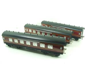 "Ace Trains O Gauge LMS C2 ""Merseyside Express"" Tinplate Coaches x5 Set Boxed image 2"