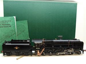 Gauge 1 Aster BR Black Class 9F Loco & Tender 2-10-0 R/N 92214 Live Steam Direct From Aster UK image 1