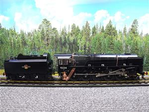 Gauge 1 Aster BR Black Class 9F Loco & Tender 2-10-0 R/N 92214 Live Steam Direct From Aster UK image 9