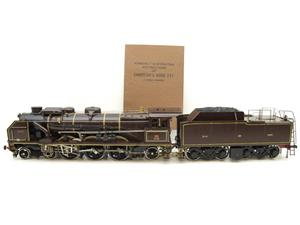 "Gauge 1 Aster Chapelons ""NORD"" 4-6-2 Loco & Tender R/N 3.1192 Live Steam Direct From Aster UK image 1"