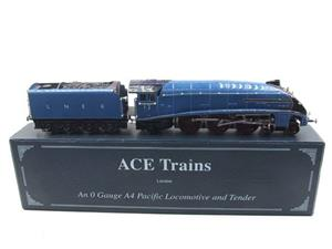"Ace Trains O Gauge E4 A4 Pacific LNER Blue ""Commonwealth of Australia"" R/N 12 Electric 3 Rail Boxed image 1"