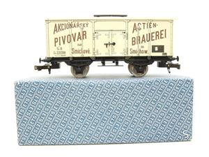 "ETS Czech O Gauge 444 Beer Car K. K.St. B. Series Lp ""Smíchow"" Van Wagon Metal N/NEW Boxed image 1"