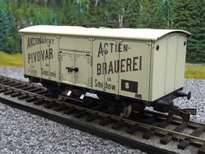 "ETS Czech O Gauge 444 Beer Car K. K.St. B. Series Lp ""Smíchow"" Van Wagon Metal N/NEW Boxed image 3"