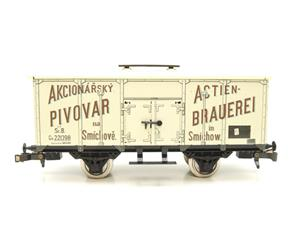 "ETS Czech O Gauge 444 Beer Car K. K.St. B. Series Lp ""Smíchow"" Van Wagon Metal N/NEW Boxed image 5"