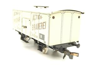 "ETS Czech O Gauge 444 Beer Car K. K.St. B. Series Lp ""Smíchow"" Van Wagon Metal N/NEW Boxed image 6"