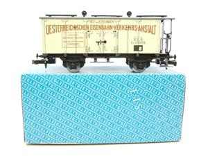 "ETS Czech O Gauge 452 Refrigerated Car Mineral Water ""Krondorf"" with Brake Plat Wagon Metal Bxd image 1"