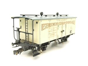 "ETS Czech O Gauge 452 Refrigerated Car Mineral Water ""Krondorf"" with Brake Plat Wagon Metal Bxd image 2"