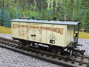 "ETS Czech O Gauge 452 Refrigerated Car Mineral Water ""Krondorf"" with Brake Plat Wagon Metal Bxd image 3"