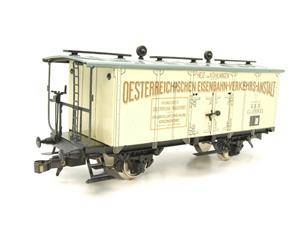 "ETS Czech O Gauge 452 Refrigerated Car Mineral Water ""Krondorf"" with Brake Plat Wagon Metal Bxd image 4"