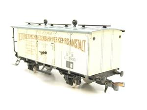 "ETS Czech O Gauge 452 Refrigerated Car Mineral Water ""Krondorf"" with Brake Plat Wagon Metal Bxd image 6"