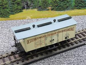 "ETS Czech O Gauge 452 Refrigerated Car Mineral Water ""Krondorf"" with Brake Plat Wagon Metal Bxd image 7"