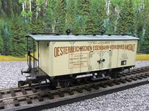 "ETS Czech O Gauge 452 Refrigerated Car Mineral Water ""Krondorf"" with Brake Plat Wagon Metal Bxd image 10"