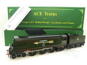 "Ace Trains O Gauge E9S1 Bulleid Pacific BR ""Sir Winston Churchill"" R/N 34051 Electric 2/3 Rail Boxed image 1"