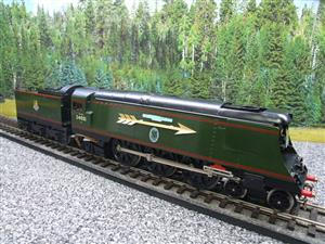 "Ace Trains O Gauge E9S1 Bulleid Pacific BR ""Sir Winston Churchill"" R/N 34051 Electric 2/3 Rail Boxed image 4"