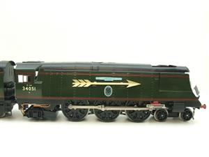 "Ace Trains O Gauge E9S1 Bulleid Pacific BR ""Sir Winston Churchill"" R/N 34051 Electric 2/3 Rail Boxed image 5"